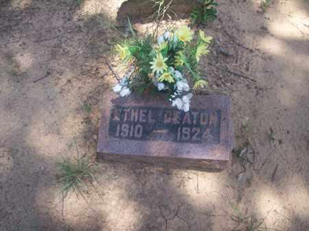 DEATON, ETHEL - Stephens County, Oklahoma | ETHEL DEATON - Oklahoma Gravestone Photos
