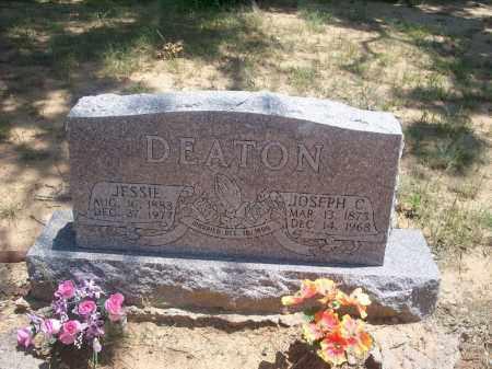 DEATON, JESSIE - Stephens County, Oklahoma   JESSIE DEATON - Oklahoma Gravestone Photos
