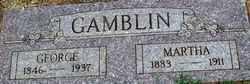 GAMBLIN, MARTHA - Stephens County, Oklahoma | MARTHA GAMBLIN - Oklahoma Gravestone Photos