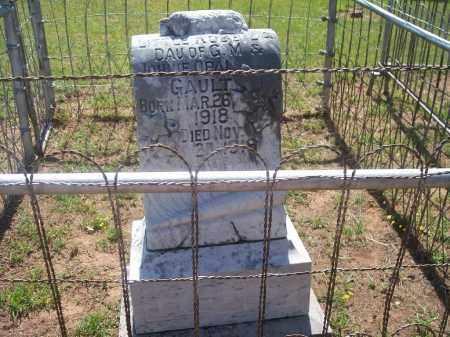 GAULT, ROBBIE A. - Stephens County, Oklahoma | ROBBIE A. GAULT - Oklahoma Gravestone Photos