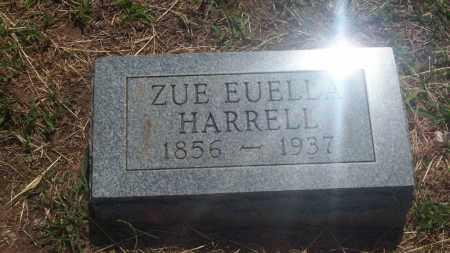 HARRELL, ZUE EUELLA - Stephens County, Oklahoma   ZUE EUELLA HARRELL - Oklahoma Gravestone Photos