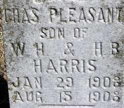 HARRIS, CHAS (CHARLES PLEASANT) - Stephens County, Oklahoma | CHAS (CHARLES PLEASANT) HARRIS - Oklahoma Gravestone Photos