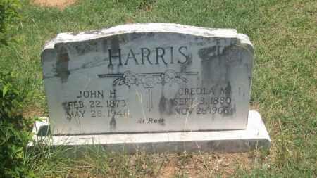 HARRIS, JOHN H. - Stephens County, Oklahoma | JOHN H. HARRIS - Oklahoma Gravestone Photos