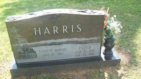 HARRIS, FLOYD - Stephens County, Oklahoma | FLOYD HARRIS - Oklahoma Gravestone Photos