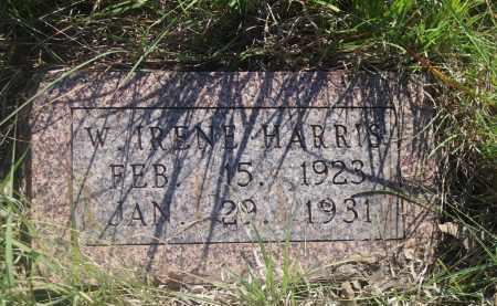 HARRIS, W. IRENE - Stephens County, Oklahoma | W. IRENE HARRIS - Oklahoma Gravestone Photos