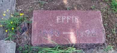 HOMESLEY, EFFIE - Stephens County, Oklahoma   EFFIE HOMESLEY - Oklahoma Gravestone Photos