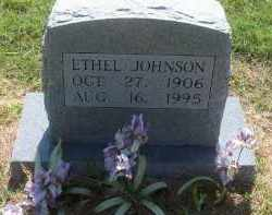 COPELAND JOHNSON, ETHEL - Stephens County, Oklahoma | ETHEL COPELAND JOHNSON - Oklahoma Gravestone Photos