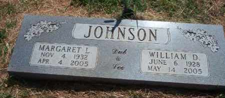 JOHNSON, WILLIAM D. - Stephens County, Oklahoma | WILLIAM D. JOHNSON - Oklahoma Gravestone Photos