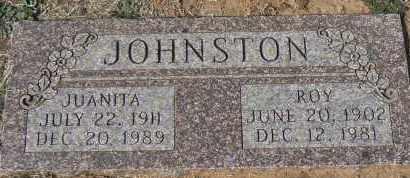 JOHNSTON, JUANITA - Stephens County, Oklahoma | JUANITA JOHNSTON - Oklahoma Gravestone Photos