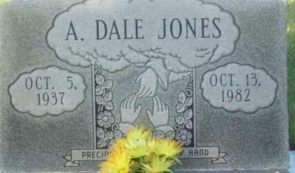 JONES, A. DALE - Stephens County, Oklahoma | A. DALE JONES - Oklahoma Gravestone Photos
