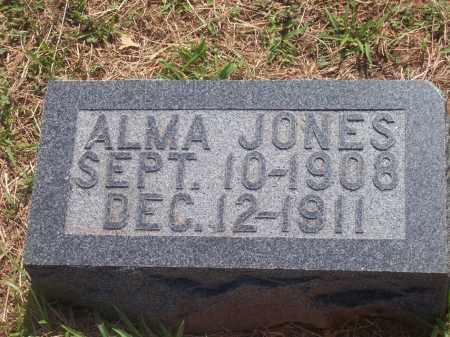 JONES, ALMA - Stephens County, Oklahoma | ALMA JONES - Oklahoma Gravestone Photos