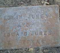 JONES, EDWIN - Stephens County, Oklahoma   EDWIN JONES - Oklahoma Gravestone Photos
