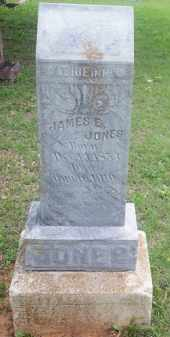 JONES, JAMES E. - Stephens County, Oklahoma | JAMES E. JONES - Oklahoma Gravestone Photos