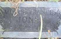 JONES, MINNIE F. - Stephens County, Oklahoma | MINNIE F. JONES - Oklahoma Gravestone Photos