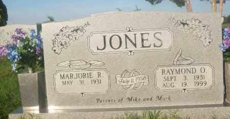 JONES, MARJORIE R. - Stephens County, Oklahoma   MARJORIE R. JONES - Oklahoma Gravestone Photos