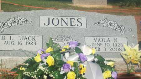 "JONES, D.L. ""JACK"" - Stephens County, Oklahoma   D.L. ""JACK"" JONES - Oklahoma Gravestone Photos"