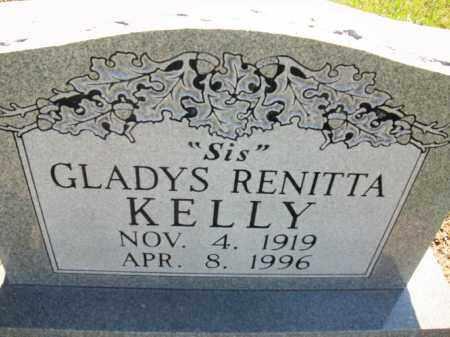 KELLY, GLADYS RENITTA - Stephens County, Oklahoma   GLADYS RENITTA KELLY - Oklahoma Gravestone Photos