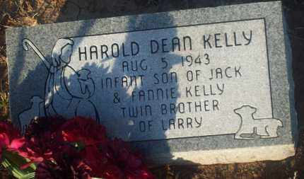 KELLY, HAROLD DEAN - Stephens County, Oklahoma | HAROLD DEAN KELLY - Oklahoma Gravestone Photos