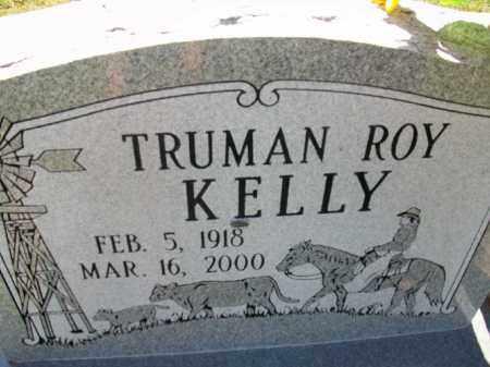 KELLY, TRUMAN ROY - Stephens County, Oklahoma | TRUMAN ROY KELLY - Oklahoma Gravestone Photos