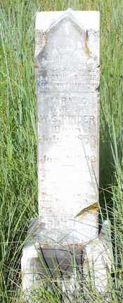 KINDER, MARY C. - Stephens County, Oklahoma | MARY C. KINDER - Oklahoma Gravestone Photos