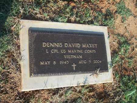 MAXEY (VETERAN VIET), DENNIS - Stephens County, Oklahoma   DENNIS MAXEY (VETERAN VIET) - Oklahoma Gravestone Photos