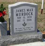 MURDOCK, JAMES MAX - Stephens County, Oklahoma | JAMES MAX MURDOCK - Oklahoma Gravestone Photos