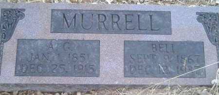 MURRELL, A.G. - Stephens County, Oklahoma | A.G. MURRELL - Oklahoma Gravestone Photos