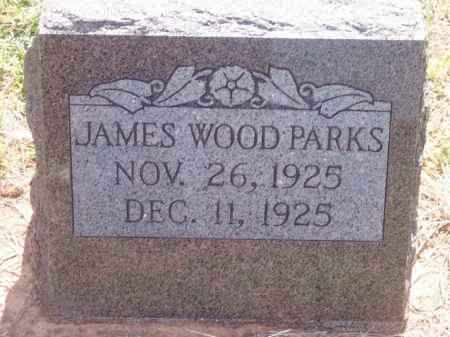 PARKS, JAMES WOOD - Stephens County, Oklahoma | JAMES WOOD PARKS - Oklahoma Gravestone Photos