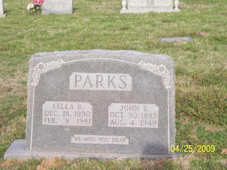 PARKS, LELLA R. - Stephens County, Oklahoma   LELLA R. PARKS - Oklahoma Gravestone Photos