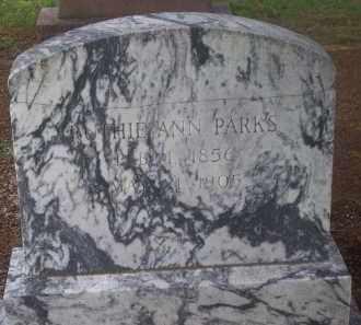 PARKS, RUTHIE ANN - Stephens County, Oklahoma | RUTHIE ANN PARKS - Oklahoma Gravestone Photos