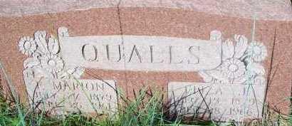 QUALLS, ELIZA J. - Stephens County, Oklahoma | ELIZA J. QUALLS - Oklahoma Gravestone Photos