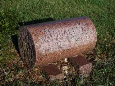 QUALLS, SCOTT - Stephens County, Oklahoma | SCOTT QUALLS - Oklahoma Gravestone Photos