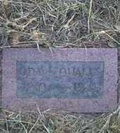 QUALLS, ODA L. - Stephens County, Oklahoma   ODA L. QUALLS - Oklahoma Gravestone Photos