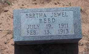 REED, BERTHA JEWEL - Stephens County, Oklahoma   BERTHA JEWEL REED - Oklahoma Gravestone Photos