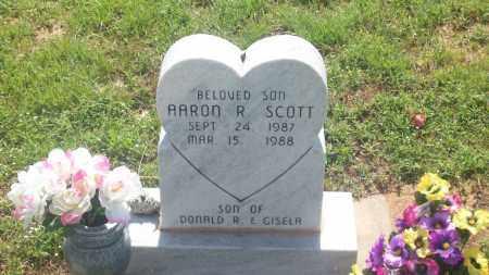 SCOTT, AARON R. - Stephens County, Oklahoma   AARON R. SCOTT - Oklahoma Gravestone Photos