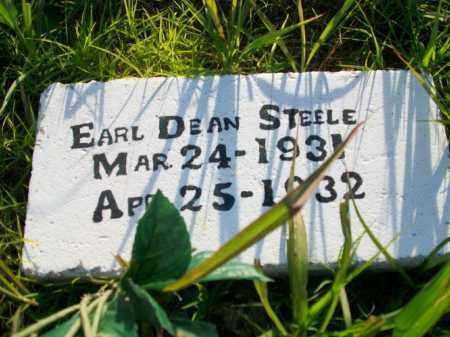 STEELE, EARL DEAN - Stephens County, Oklahoma | EARL DEAN STEELE - Oklahoma Gravestone Photos