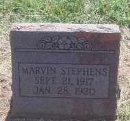 STEPHENS, MARVIN - Stephens County, Oklahoma | MARVIN STEPHENS - Oklahoma Gravestone Photos
