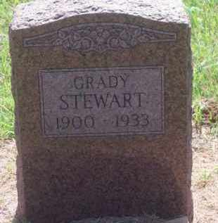STEWART, GRADY - Stephens County, Oklahoma | GRADY STEWART - Oklahoma Gravestone Photos