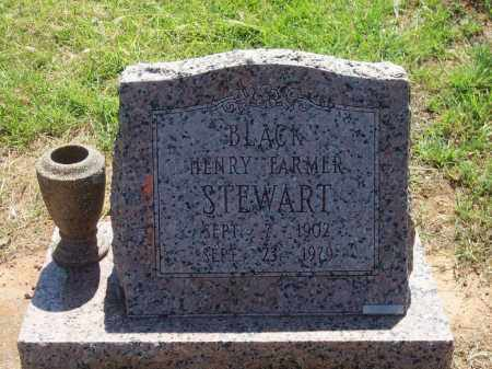 "STEWART, HENRY FARMER ""BLACK"" - Stephens County, Oklahoma   HENRY FARMER ""BLACK"" STEWART - Oklahoma Gravestone Photos"