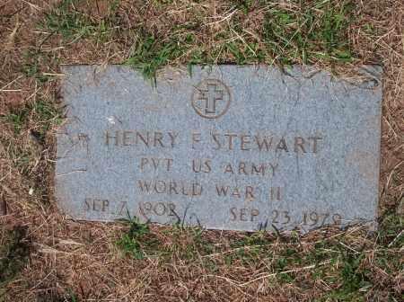 STEWART, HENRY F - Stephens County, Oklahoma   HENRY F STEWART - Oklahoma Gravestone Photos