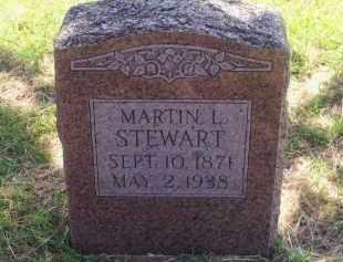 STEWART, MARTIN L. - Stephens County, Oklahoma   MARTIN L. STEWART - Oklahoma Gravestone Photos