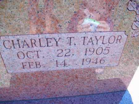 TAYLOR, CHARLEY T. - Stephens County, Oklahoma | CHARLEY T. TAYLOR - Oklahoma Gravestone Photos
