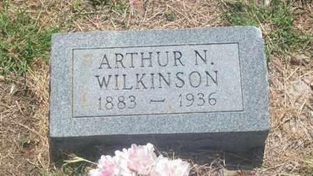 WILKINSON, ARTHUR N. - Stephens County, Oklahoma   ARTHUR N. WILKINSON - Oklahoma Gravestone Photos