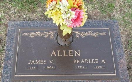 ALLEN, BRADLEE A - Tulsa County, Oklahoma | BRADLEE A ALLEN - Oklahoma Gravestone Photos
