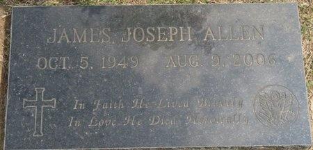 ALLEN, JAMES JOSEPH - Tulsa County, Oklahoma | JAMES JOSEPH ALLEN - Oklahoma Gravestone Photos