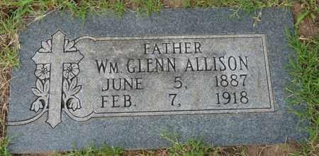 ALLISON, WILLIAM GLENN - Tulsa County, Oklahoma | WILLIAM GLENN ALLISON - Oklahoma Gravestone Photos