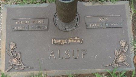 ALSUP, WILLIE RENE - Tulsa County, Oklahoma | WILLIE RENE ALSUP - Oklahoma Gravestone Photos