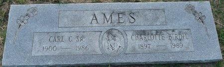 "AMES, CHARLOTTE ""BIRDIE"" - Tulsa County, Oklahoma | CHARLOTTE ""BIRDIE"" AMES - Oklahoma Gravestone Photos"