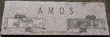 AMOS, MILDRED C - Tulsa County, Oklahoma | MILDRED C AMOS - Oklahoma Gravestone Photos