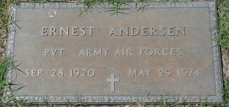 ANDERSEN (VETERAN), ERNEST (NEW) - Tulsa County, Oklahoma | ERNEST (NEW) ANDERSEN (VETERAN) - Oklahoma Gravestone Photos